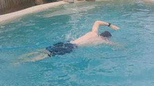 swim tether picture